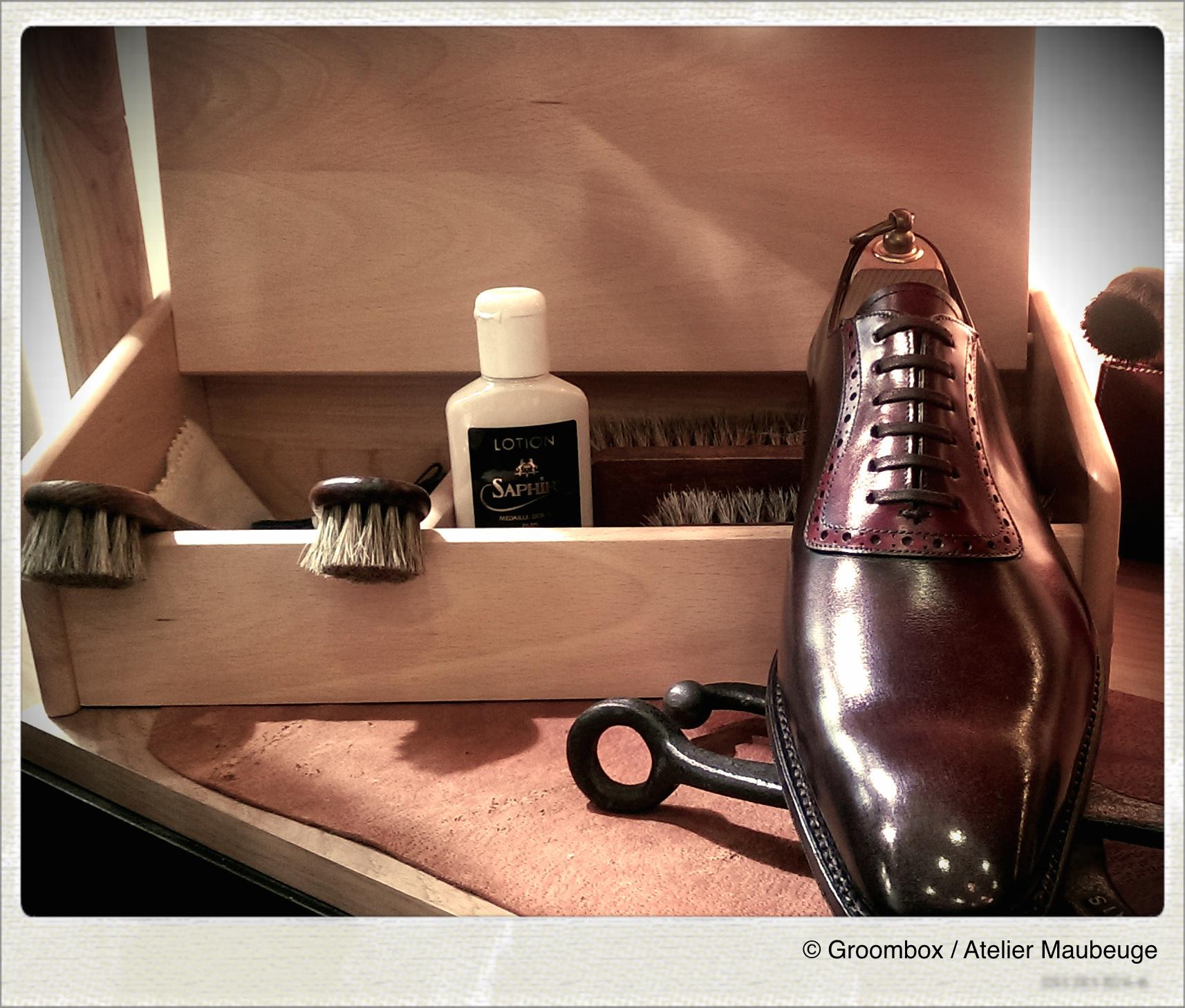 Glaçage - Chaussures - Groom Box - Cordonnerie